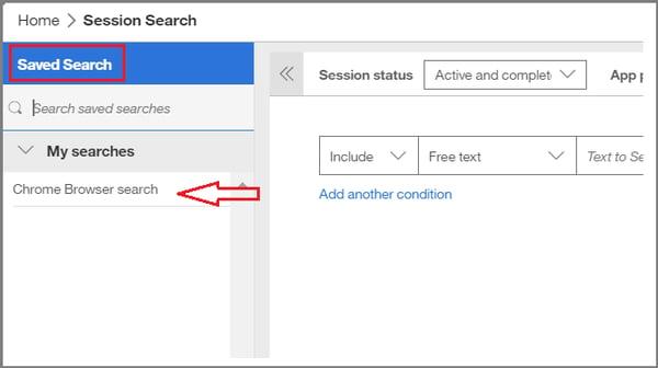Advanced Session Search - 9