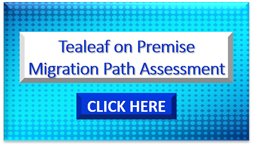 Tealeaf on Premise Migration Assessment-1