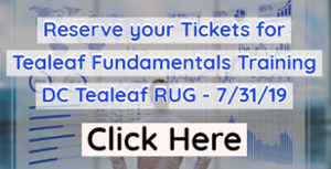 Reserve Tickets to DC Tealeaf RUG on 7/31/19