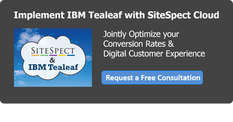 Implement IBM Tealeaf with SiteSpect Cloud